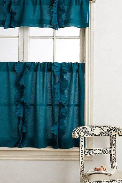 anthropologie flutter curtains flutter cafe curtain products curtains and home