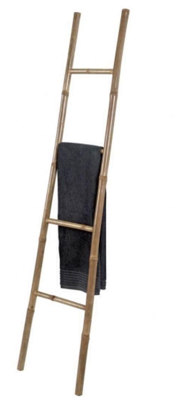 bamboo ladder 15 www casashop com home decor