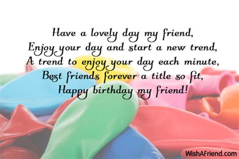 Happy Birthday Wishes For Lovely Friend Birthday Wishes For Friends Page 5