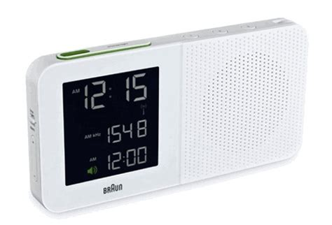 Bedroom Alarm Clock Radio Braun Digital Alarm Clock Radio White Master Bedroom