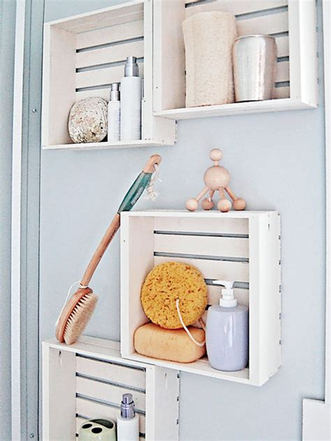 bathroom shelf ideas pinterest ideas diy de decoraci 243 n y almacenaje para el ba 241 o