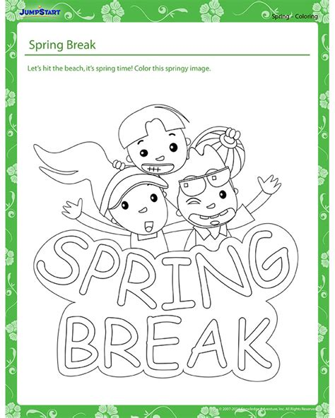 free coloring pages of grade grade 5 spring
