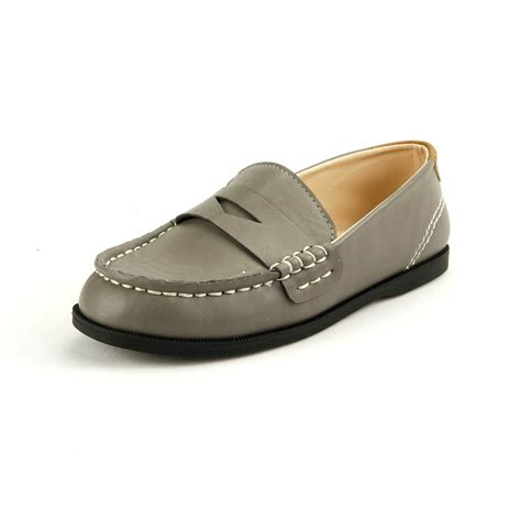 boy s loafer casual moccasin shoes pu comfortable slip on