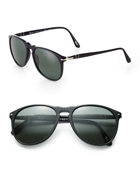 persol suprema sunglasses persol suprema 55mm sunglasses in black for lyst