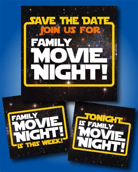 26 Ways For Your Pto To Rock A Star Wars Family Night Pto Today Wars Save The Date Templates