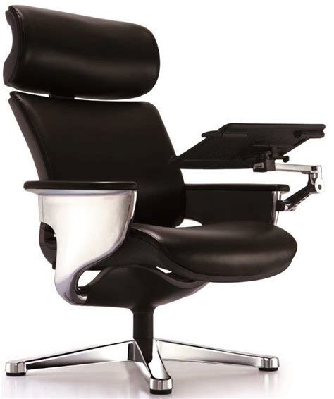 office chair with footrest nuvem leather office chair with footrest and built in