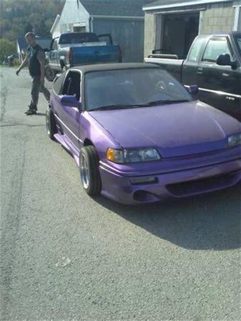 custom honda crx sell used custom honda crx lowrider in greensburg