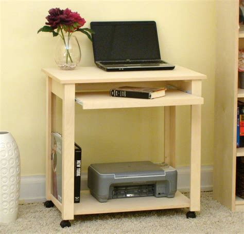 Planing Compact Computer Desk For Small Place The Small Computer Desk With Keyboard Tray