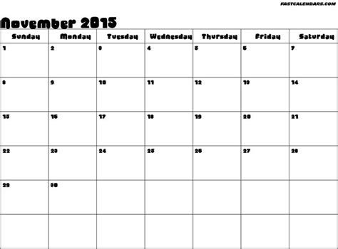 printable calendar november 2015 with holidays 17 best images about november 2015 calendar on pinterest