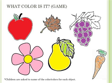 what color in ppt teaching about colors