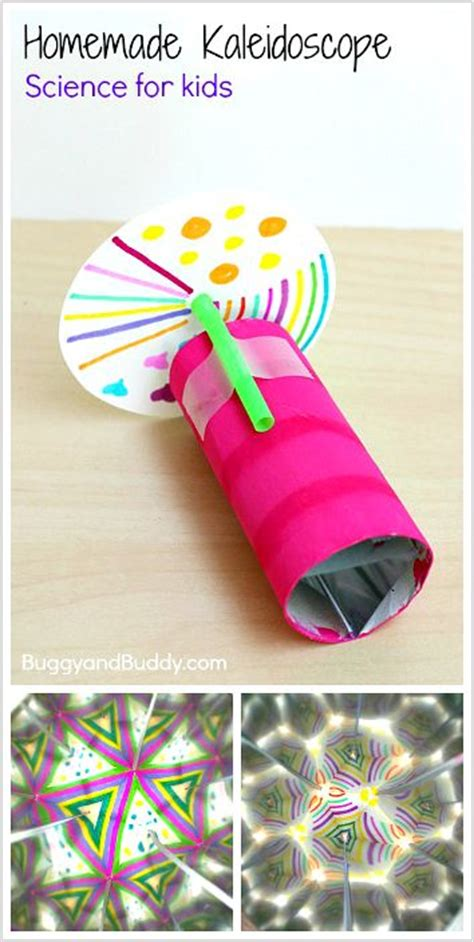 light activities for kids science for kids how to make a kaleidoscope homemade