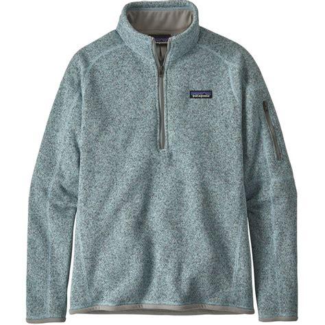 patagonia  sweater  zip fleece womens