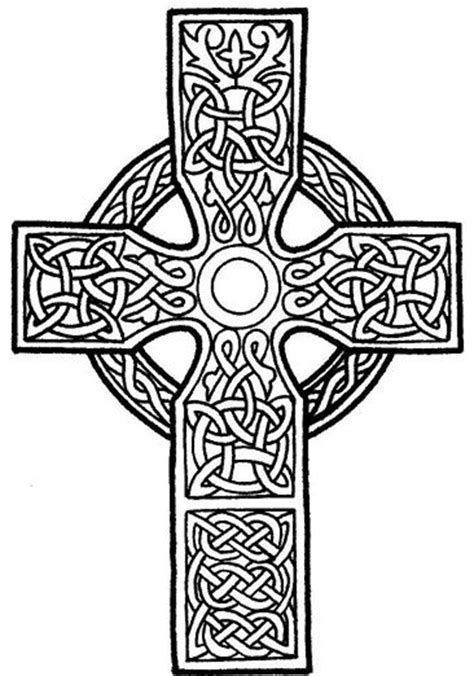 cross mandala coloring pages 25 best ideas about celtic crosses on