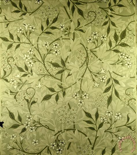 wallpaper design sles william morris jasmine wallpaper design art print for sale