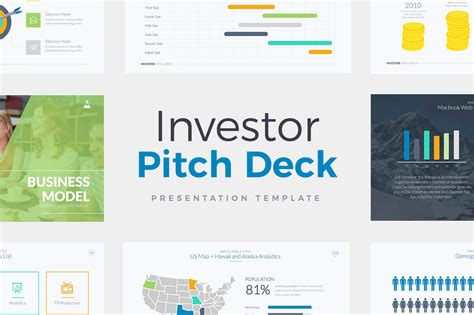 Investor Pitch Deck Template For Powerpoint Keynote And Google Slides Pitch Deck Template Powerpoint Free