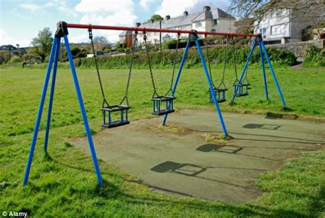 school swings schools ripping out playground equipment to avoid being