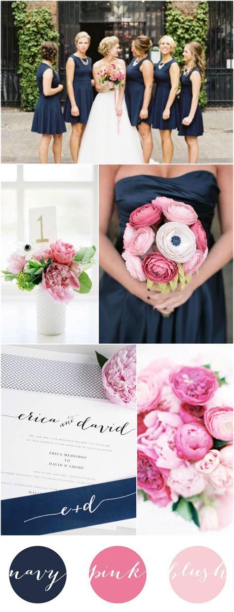 25 best ideas about navy pink weddings on blush wedding colour theme navy blush