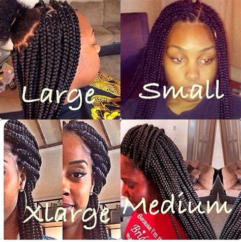 do braids be stiff when you first get them done box braids also comes n different sizes jumbo braids
