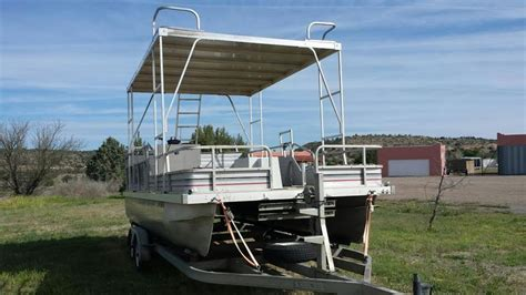 used pontoon boat with upper deck 17 best images about pontoon boat accessories on pinterest