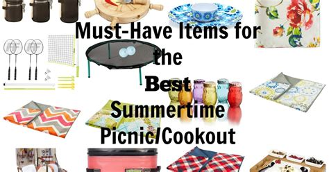 top 5 list of must have items for your home office must have items for the best summertime picnic cookout
