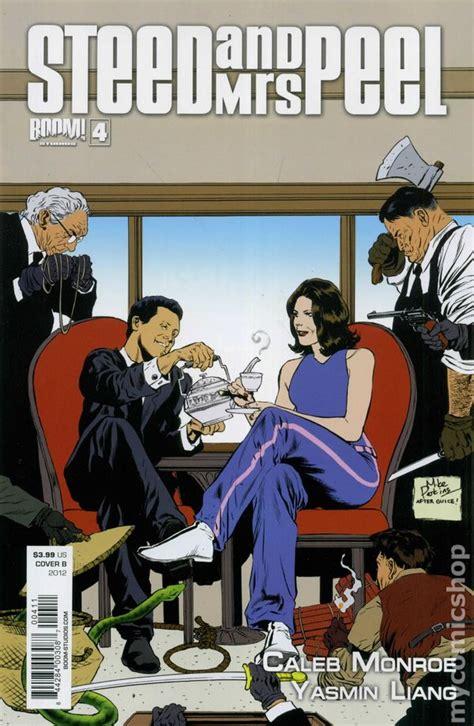 Caviar Sho Bpom steed and mrs peel 2012 boom comic books