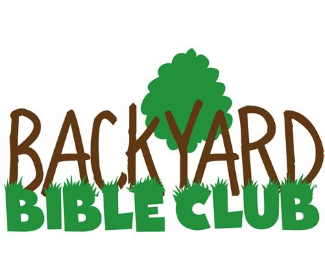 backyard bible club two exciting summer programs
