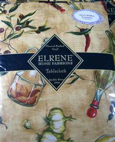 Round Patio Tablecloth Flannel Backed Vinyl Tablecloths Quot Salad Quot Assorted Sizes