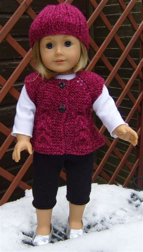 tights pattern for 18 doll american girl doll top down sleeveless cardi and skinny