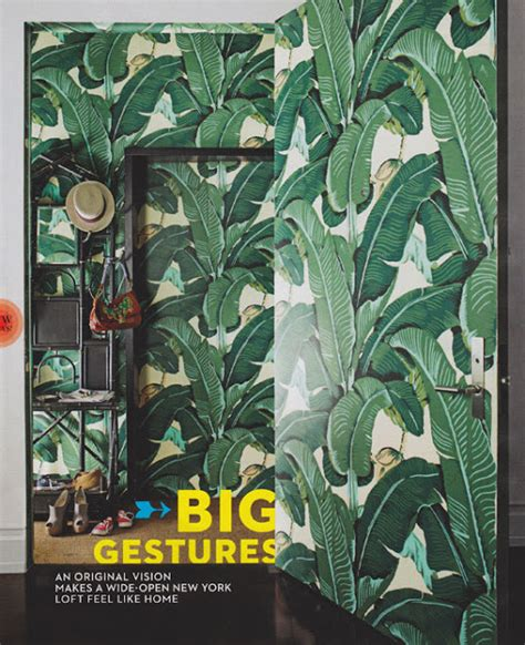 steven sclaroff the glam pad marvelous martinique banana leaf wallpaper