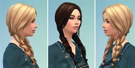 sims 4 girl hair braids my sims 4 blog braids hair for males and females by birksches