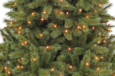 weißer weihnachtsbaum mit beleuchtung kunsttannenbaum bristlecone 2 15 m gr 252 n durchmesser 127 cm
