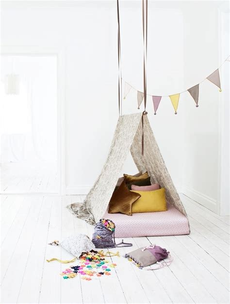 teepee bed diy teepee bed child pinterest muse nooks and