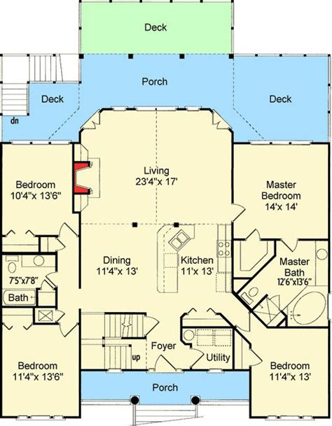 Low Country Floor Plans 25 Best Ideas About House Plans On