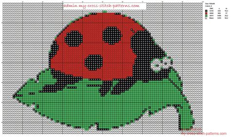 cross stitch pattern maker program free funny ladybug cross stitch pattern scheme maker 100x66 4