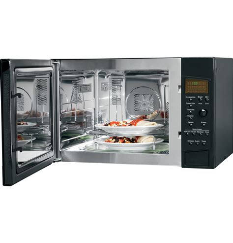 Convection Microwave Ovens Countertop by Peb1590dmbb Ge Profile Series 1 5 Cu Ft Countertop Convection Microwave Oven The Monogram
