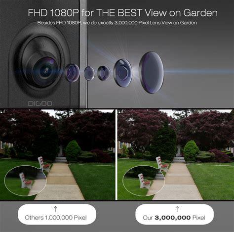 front door light with camera digoo dg ulc gardening flood light camera wifi h 265 hd