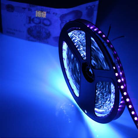 Uv Led Light Strips Dc12v 1 5m Uv Ultraviolet Balck Pcb Led