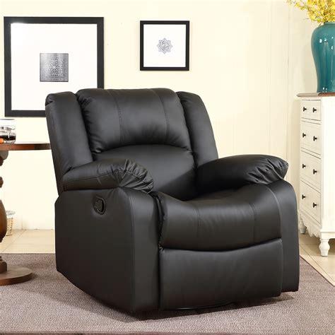 black faux leather rocker recliner swivel recliners hton fabric swivel glider recliner