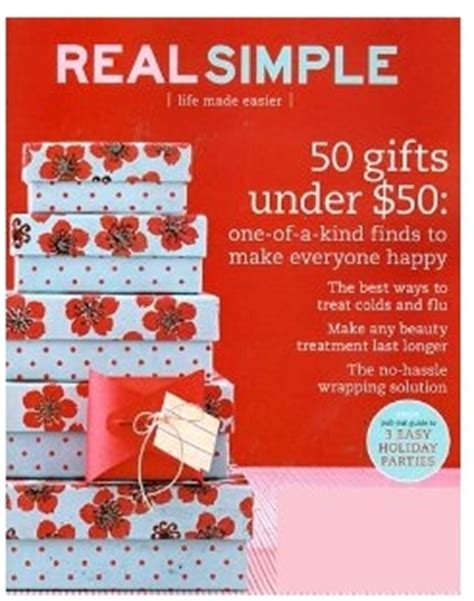 real simple magazine real simple magazine 83 per issue my frugal adventures