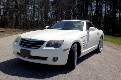 2005 chrysler convertible 2005 chrysler crossfire limited convertible 195273