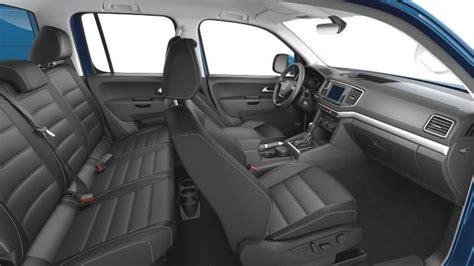 volkswagen amarok interior volkswagen amarok 2016 dimensions boot space and interior
