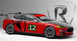Tesla Racing Car Kinja