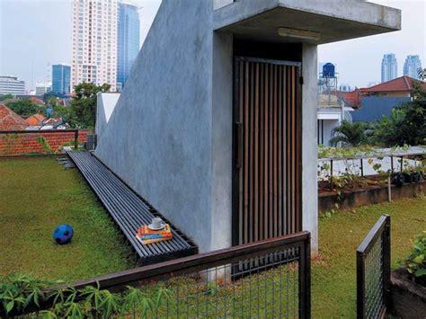 taman roof garden atap rumah inspiratif