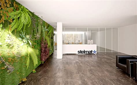 Vertical Wall Garden Interior Design Ideas Interior Wall Garden