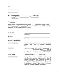 sample real estate proposal template 7 free documents