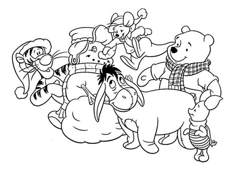 christmas pages for preschool coloring pages