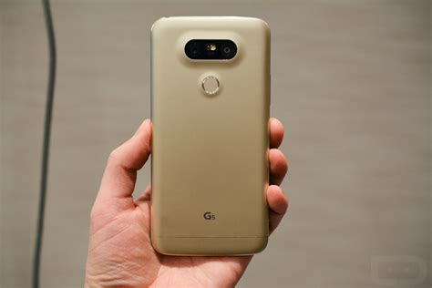 Lg G5 Se Gold lg posts minute look at g5 in gold details features