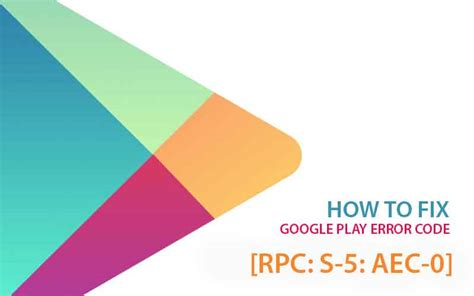 play error rpc s 5 aec 0 while updating or