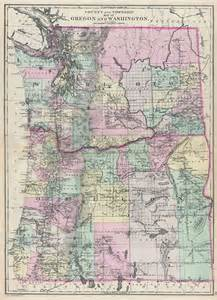 Oregon Washington Map by Map Of Oregon And Wa Pictures To Pin On Pinterest Pinsdaddy