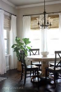 Curtains For Dining Room Windows 25 Best Ideas About Breakfast Nook Curtains On Bay Window Curtain Inspiration